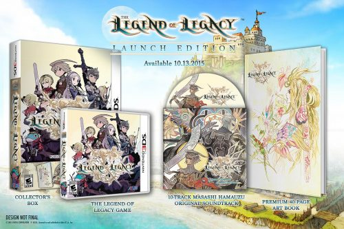 The Legend of Legacy U.S. Release Date Set for October 13