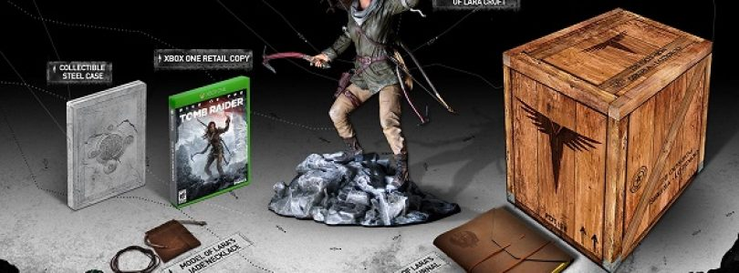 Rise of the Tomb Raider Collector's Edition Announced