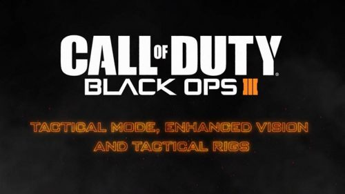 New Call of Duty: Black Ops III Trailer Introduces New Vision Modes and Tactical Rigs