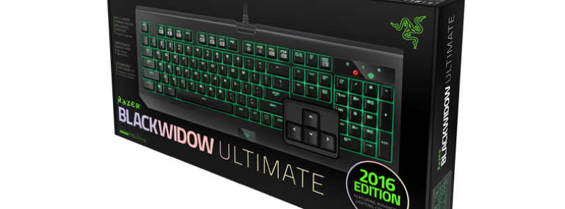 Razer Announces New Razer Blackwidow Ultimate for 2016