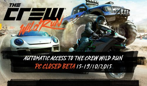 The Crew Wild Run PC Beta Incoming