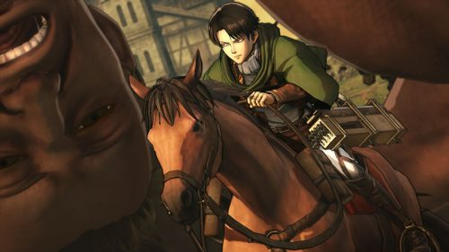 Koei Tecmo's Attack on Titan Game Set for Release in February 2016