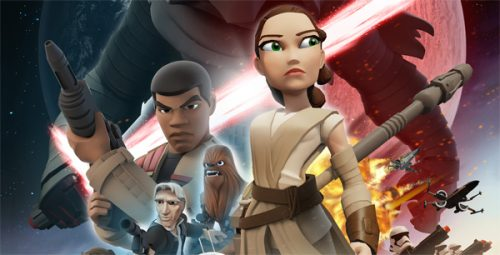 """New Poster for Disney Infinity's """"The Force Awakens"""" Play Set"""