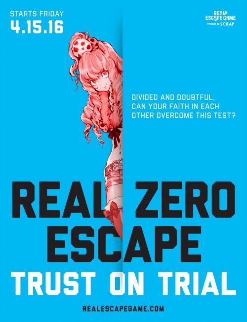 Zero Escape Themed Escape Room Opening on April 15th in LA