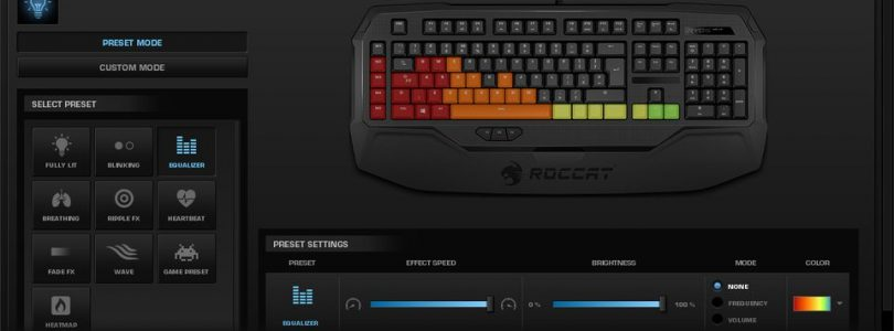 Roccat Ryos MK FX Mechanical Gaming Keyboard Available Now