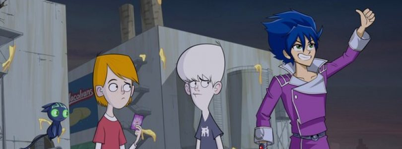 The Australian Animated Series 'Exchange Student Zero' Is Now Available on DVD