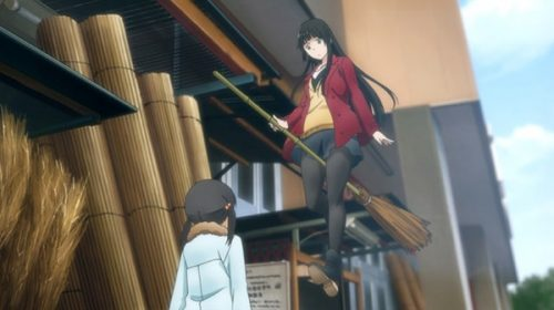 Sentai Filmworks Licenses 'Flying Witch' and the Second 'Hakuoki' Film