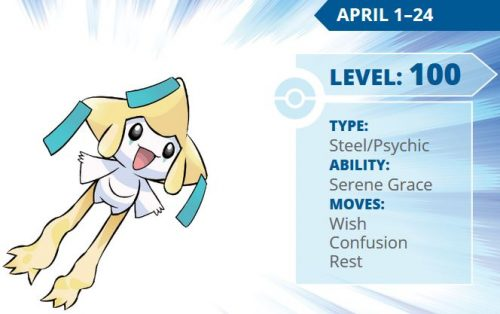 Download Legendary Pokemon Jirachi Now