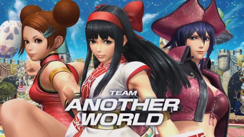 The King of Fighters XIV's Team Another World Introduced in Latest Team Video