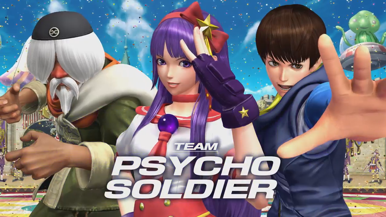 The King Of Fighters XIV's Team Psycho Soldier Introduced in