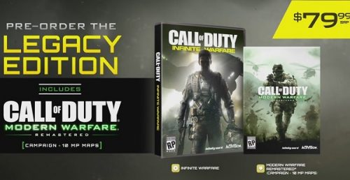 Call of Duty: Infinite Warfare Officially Revealed with Debut Trailer