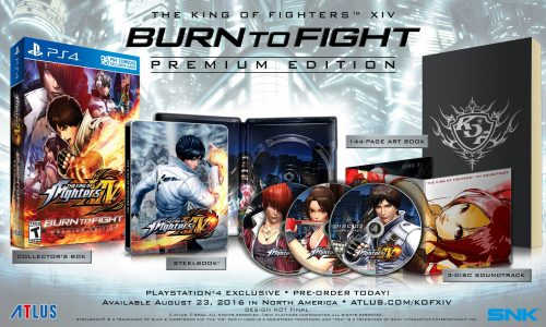 The King of Fighters XIV Premium Edition Revealed for North America