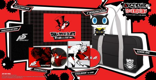 Persona 5 to Arrive in North America on February 14, 2017