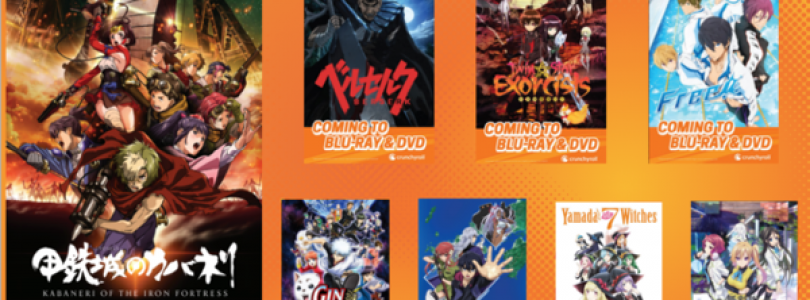 Crunchyroll Announces Plans to Dub and Release Anime on DVD and Blu-ray