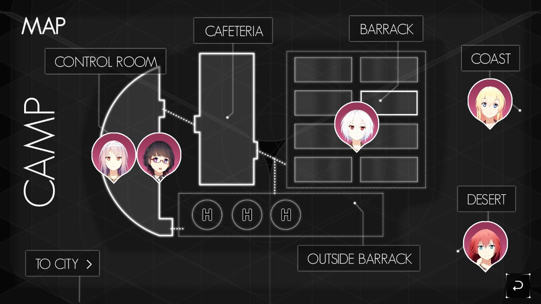 just deserts 罪有应得just deserts是vifth floor制作发行的一款军旅恋爱题材的视觉小说游戏。罪有应得下载游戏采用日漫风格,萝莉与御姐颜值都很高。在罪有应得中文版下载.