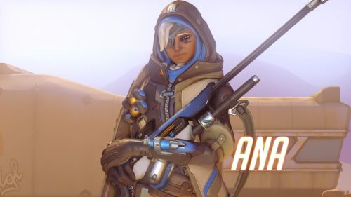 Overwatch's Newest Hero is the Support Sniper Ana