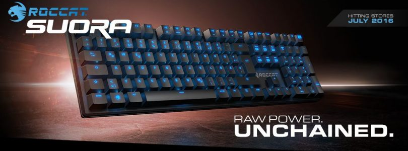 Roccat Suora Frameless Mechanical Keyboard Review