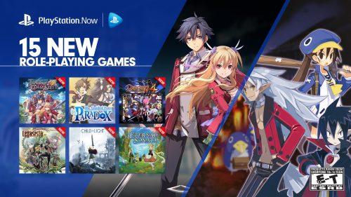 PlayStation Now Adds Fifteen RPGs including many Japanese Titles