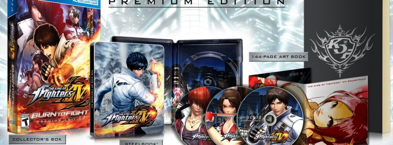 "The King Of Fighters XIV's ""Burn to Fight"" Premium Edition Unboxed"