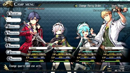 The Legend of Heroes: Trails of Cold Steel II Launch Trailer, Screenshots Released