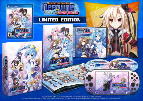 Superdimension Neptune VS Sega Hard Girls Limited Edition Revealed