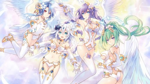 Four Goddesses Online: Cyber Dimension Neptune to Include Goddess Forms as NPCs