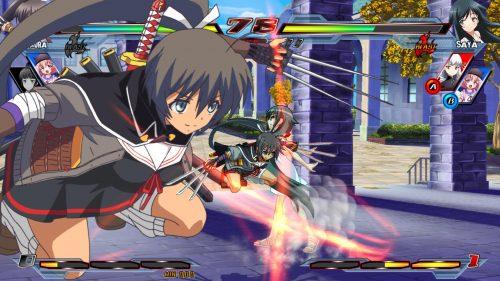 Nitroplus Blasterz: Heroines Infinite Duel Arrives on PC on December 8