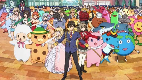 Amagi Brilliant Park English Dub Previewed in Latest Trailer