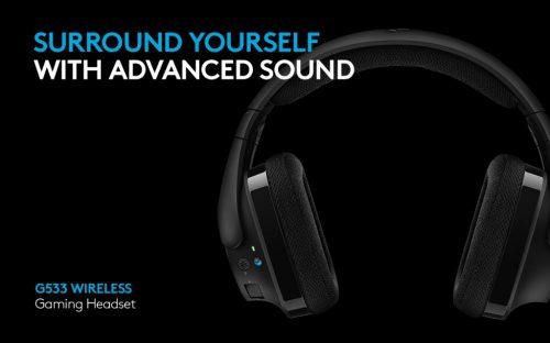Logitech Unveils the Logitech G533 Wireless Gaming Headset