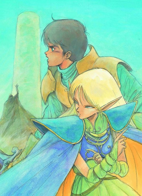 Record of Lodoss War: The Grey Witch Novel Licensed by Seven Seas