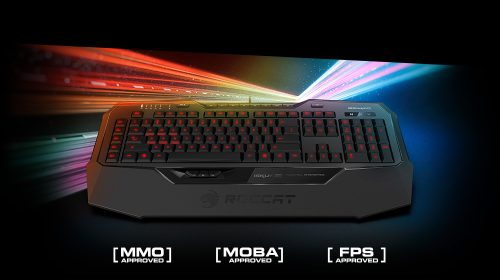 Roccat Isku+ Force FX and Roccat Isku+ Keyboards Out Now