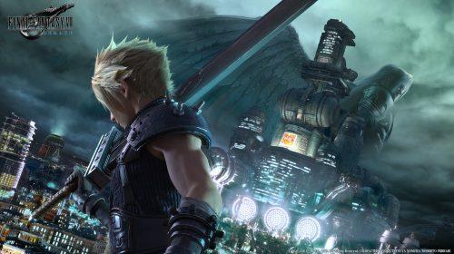 Final Fantasy VII Remake Key Visual Released