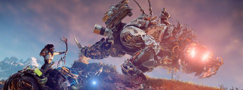 Horizon: Zero Dawn's Snapmaw, Thunderjaw, Behemoth, and Stormbird Previewed