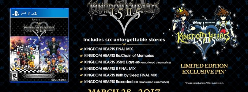 Kingdom Hearts HD 1.5 + 2.5 Remix 'Limited Edition' Announced