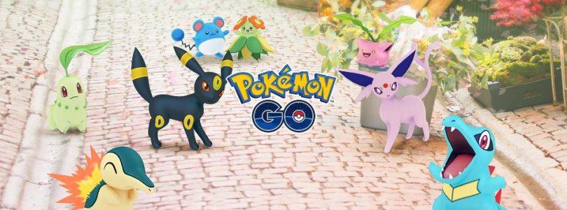 Upcoming Pokemon GO Update Adds All Generation 2 Pokemon