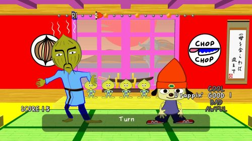 PaRappa the Rapper Remastered Releasing on April 4