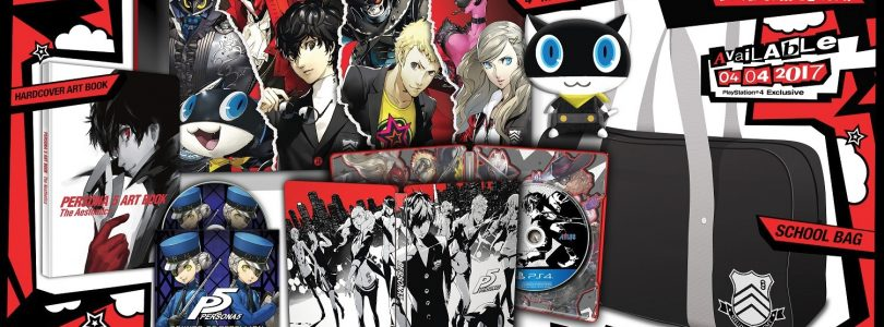 Persona 5's Take Your Heart Edition Unboxed