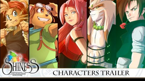Meet The Characters of Shiness: The Lightening Kingdom in The New Trailer