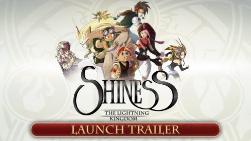 Shiness: The Lightning Kingdom Out Now