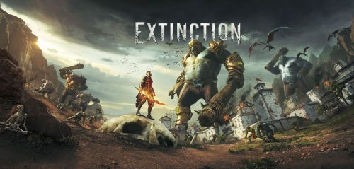 Giant Ogre Slaying Action Game Extinction Announced for PC, PS4, and Xbox One