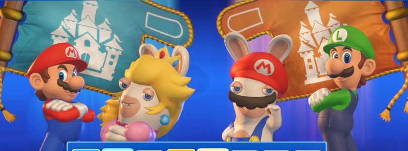 New Mario + Rabbids Kingdom Battle Trailer Highlights Co-Op Gameplay