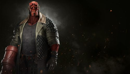 Hellboy Enters the Fray in Latest Injustice 2 Trailer