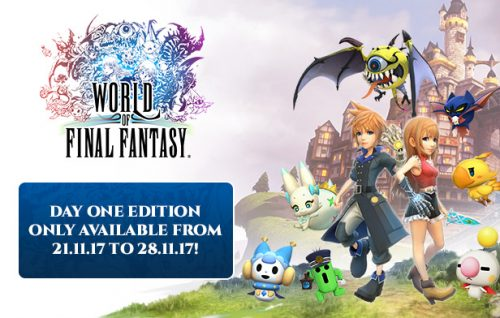 World of Final Fantasy Launches on Steam