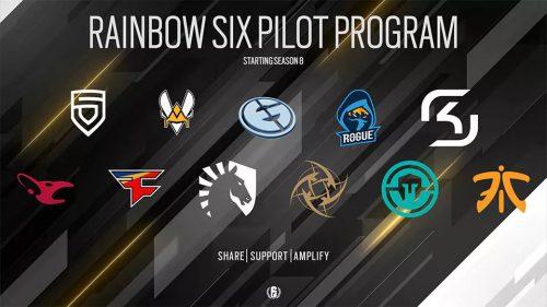 Ubisoft Launching Revenue Sharing Pilot Program for Tom Clancy's Rainbow Six Pro League