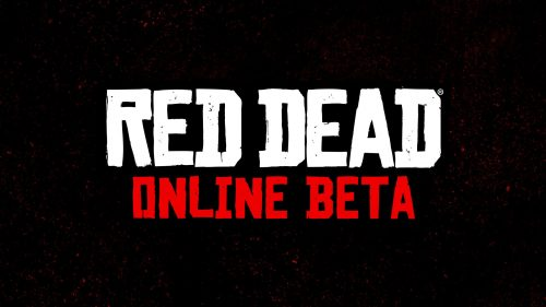 Red Dead Online Announced, Public Beta Starting in November 2018