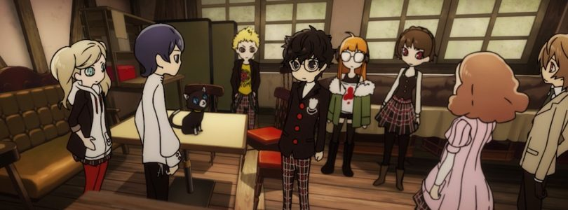 Persona Q2: New Cinema Labyrinth Trailer Introduces the Phantom Thieves