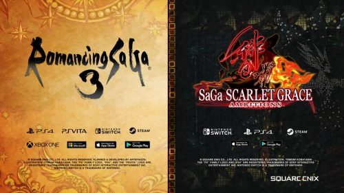 Romancing SaGa 3 and SaGa: Scarlet Grace Ambitions Announced for Western Release