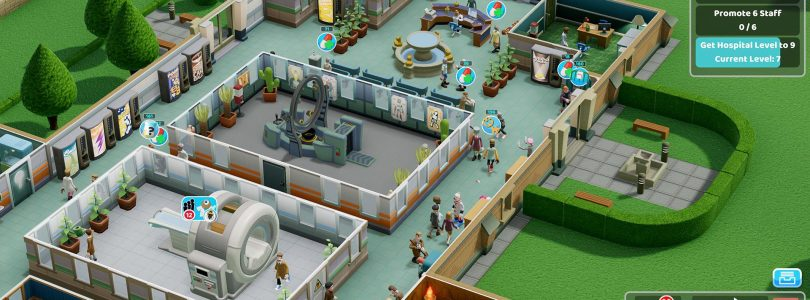 Two Point Hospital Releasing on Consoles on February 25, 2020