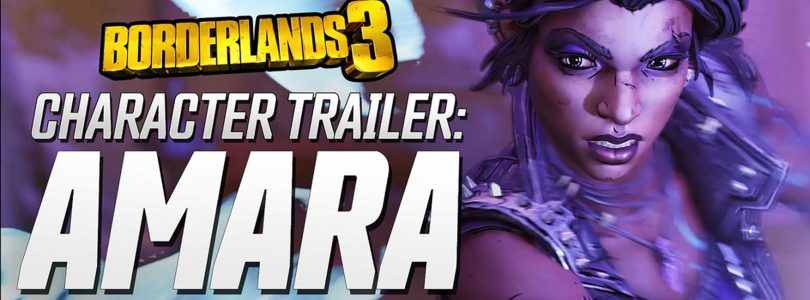 New Borderlands 3 Trailer Features Amara the Siren