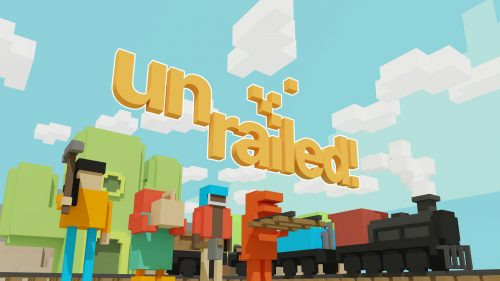 Frantic Co-op Railway Builder Unrailed! out now on Steam Early Access